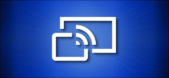 رمز تطبيق Windows 10 Connect على اللون الأزرق