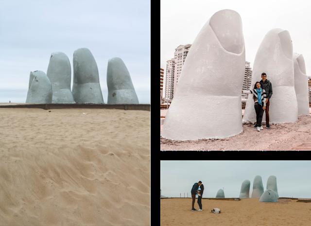 Escultura Los Dedos