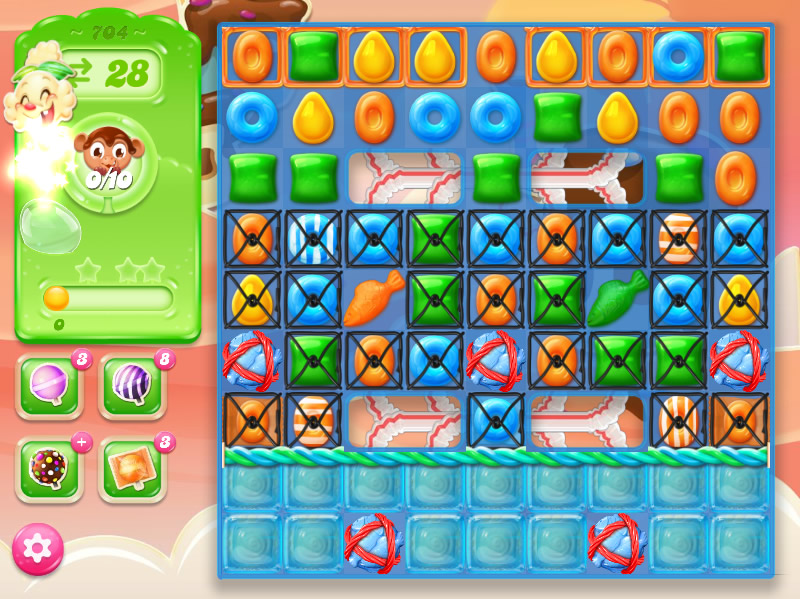 Candy Crush Jelly Saga level 704