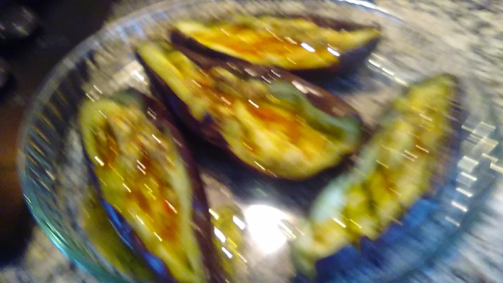 Cocinando con rosita berenjenas al microondas - Cocinando con microondas ...
