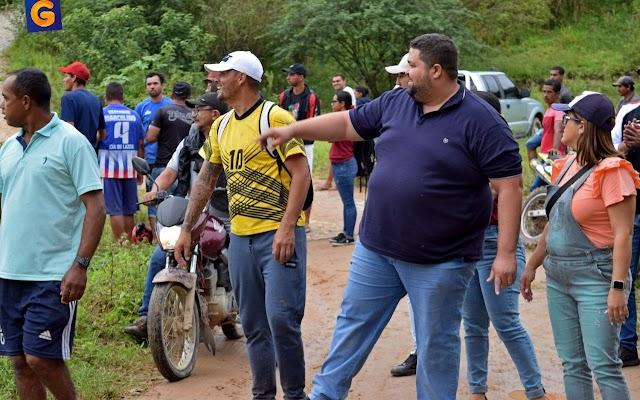 Vereador Guilherme incentiva e apoia esporte na zona rural