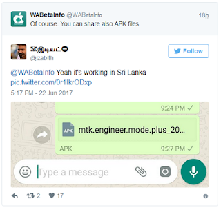 Soon You Will Be Able to Share All File Types on Whatsapp - Checkout Date