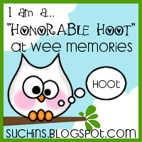 wee Memories honorable hoot  #59, #64, #79 and #80!