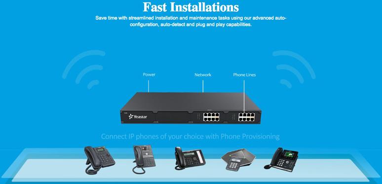 cách cài đặt tổng đài điện thoại Yeastar S20 VoIP PBX