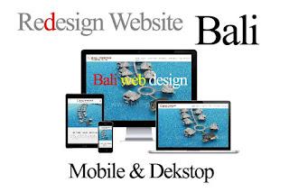 Jasa redesign website di Bali