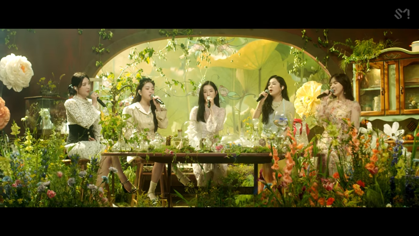Red Velvet Shows Charming Vocals in 'Milky Way' MV Teaser in 'Our Beloved BoA' Project
