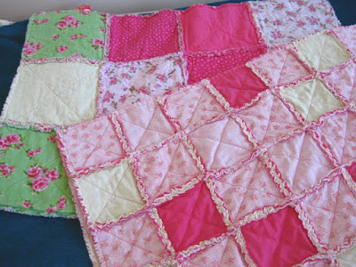 Going Grey And Slightly Green Do You Like Sewing Rag Quilts But