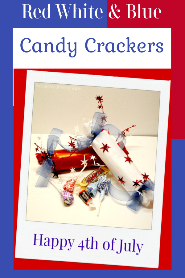 Easy July 4 Candy Crackers