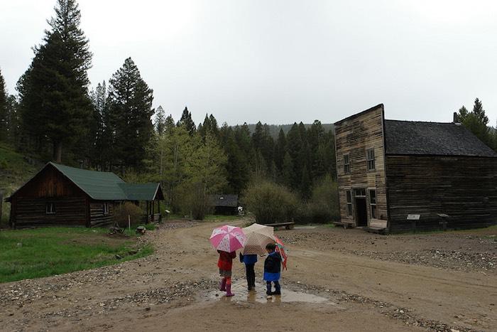 viajes en caravana con niños