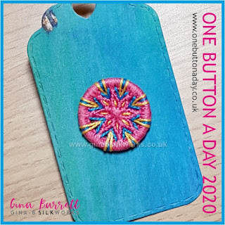 Day 270 : Med - One Button a Day 2020 by Gina Barrett