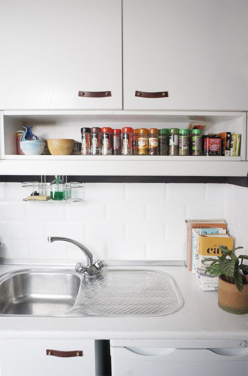 Antes y despu s de nuestra peque a cocina renovar la cocina sin obras dr livinghome diy - Renovar cocinas sin obras ...