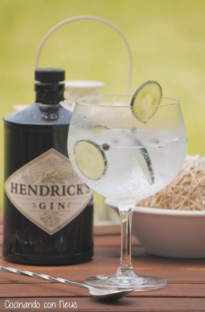 Hendrick's Gin tonic  y feliz verano!!! cocinando-con-neus
