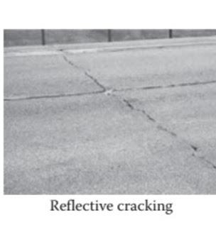 الشروخ الانعكاسية- REFLECTIVE CRACKING