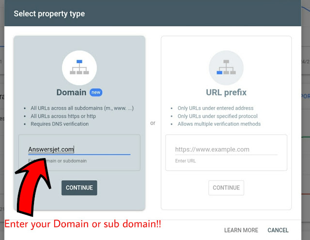 How to Submit blogger website in Google search console