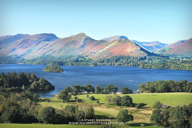 Catbells, cat bells, walk, route, map, photo, Keswick, Lake District, Lakes, England