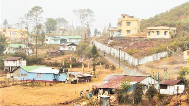 The Tibetan settlement Ravangla Sikkim