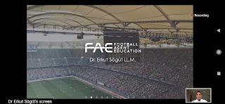 Futbol, menajer, menajerlik, eğitim, ücretsiz eğitim, online, Hakan Çolak, hakancolakcom