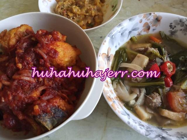 Resepi Sup Sayur Di Gandingkan Bersama  Reja Ayam dan Fish Cake, Sedap!!!