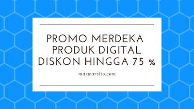 Promo Produk Digital di Ratakan Diskon Hingga 75%