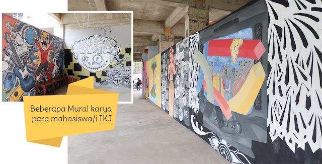 #IKJDAY; ikj-jakarta; institut-kesenian-jakarta; ikj-day-2016; kuliah-di-ikj; mural-ikj; ikj; kampus-seni; review-kampus-ikj; ikj-day-2016; blogger-crony; workshop-ikj