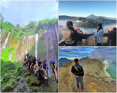 Mount Bromo, Ijen Crater, Tumpak Sewu Waterfall tour