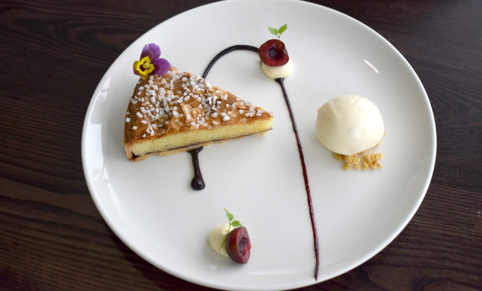 1910 at Spanish City Whitley Bay - Cherry and Almond Tart