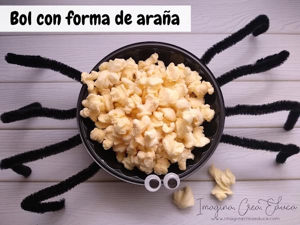 BOL CON FORMA DE ARAÑA