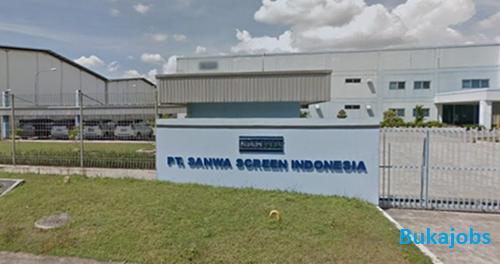 Lowongan Kerja PT Sanwa Screen Indonesia Terbaru 2019