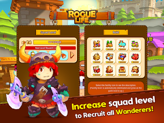 Rogue Life With BBM Apk v1.0.3 Mod High Damage/Defense/HP Terbaru