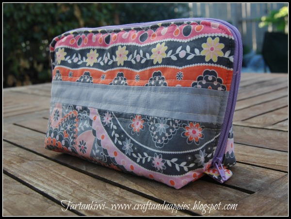 zipper sewing case tutorial