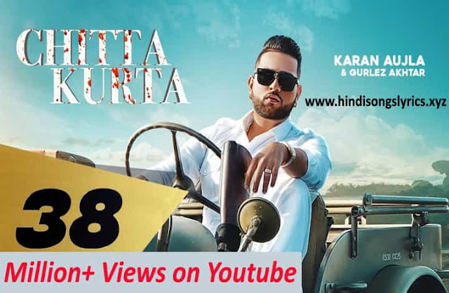 Chitta Kurta Lyrics by Karan Aujla