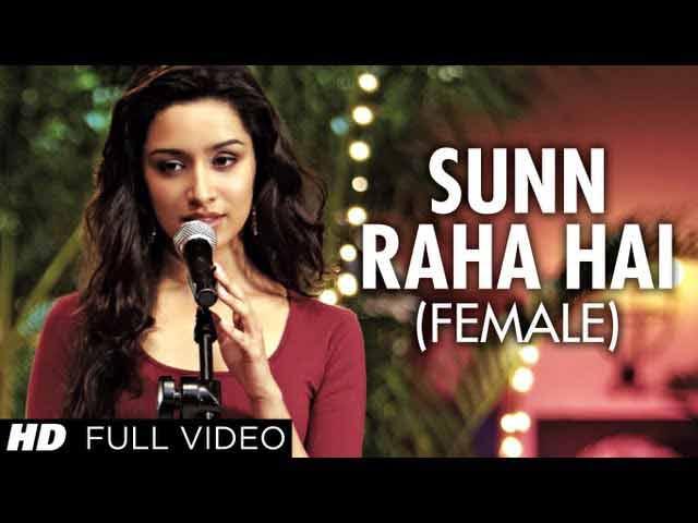Sun raha hai na tu female lyrics-Singer SHREYA GHOSHAL