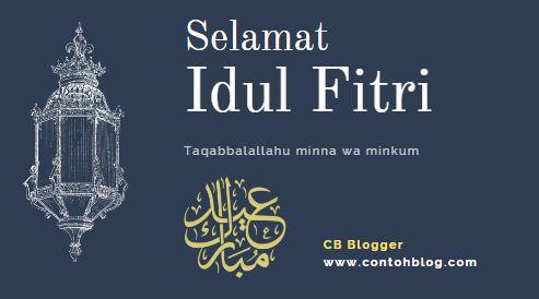 Selamat Idul Fitri 1 Syawal 1441 H - 24 Mei 2020 M