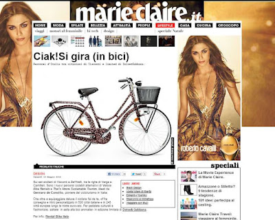 veloce bike rental Dolce & Gabbana animalier bicycle travel magazine