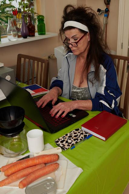 De thuiswerker, de nijvere werkbij