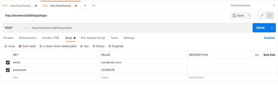 Autentikasi Laravel-Vue.js Multiple Roles: User, Admin, Manager