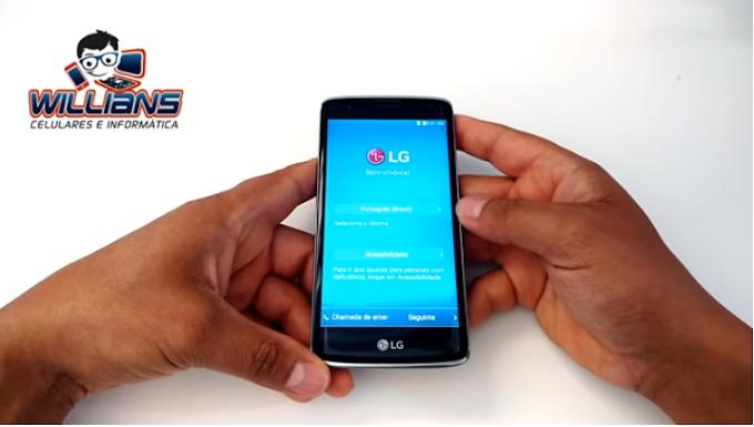 Aprenda como Desbloquear a Conta Google LG K8 K350, k350ds com Patch 1° agosto.