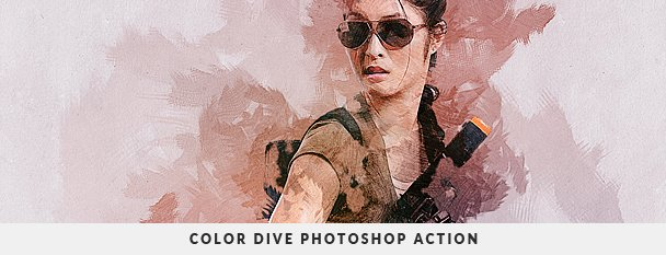 Painting 2 Photoshop Action Bundle - 55