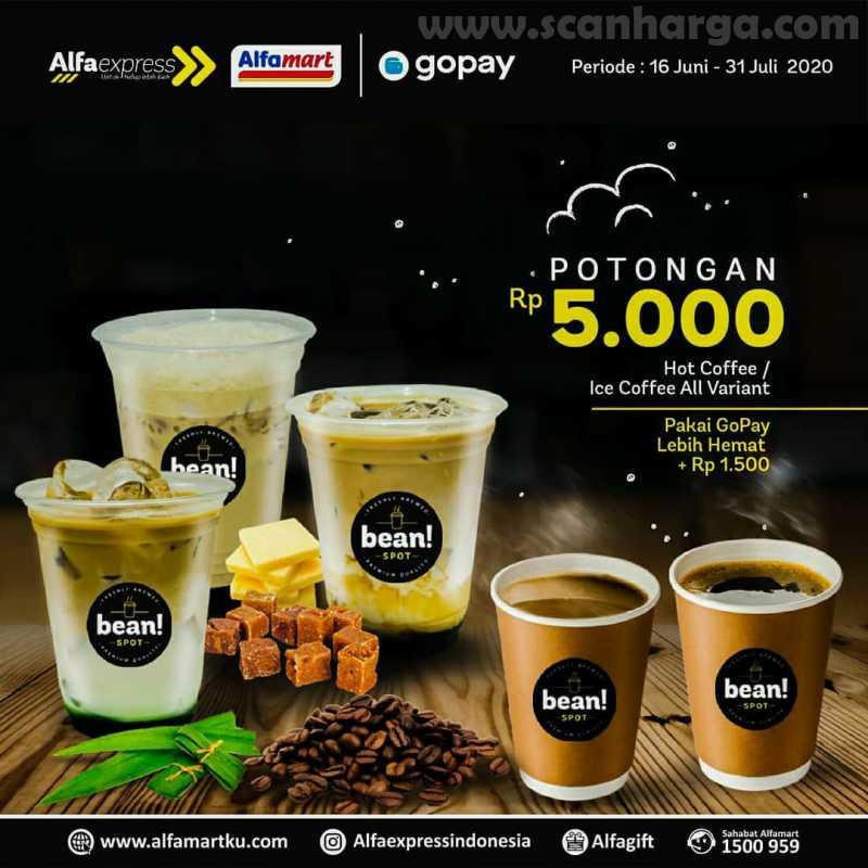 Promo AlfaExpress RTD Hot/Iced Coffee Potongan Rp 5.000 + Extra Rp 1.500 Pakai GoPay