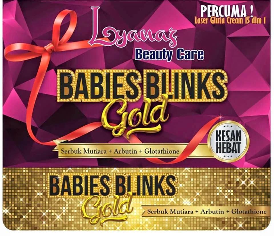 BABIES BLINK GOLD TERBARU BY LYANAZ BEAUTY HARGA MURAH ORIGINAL