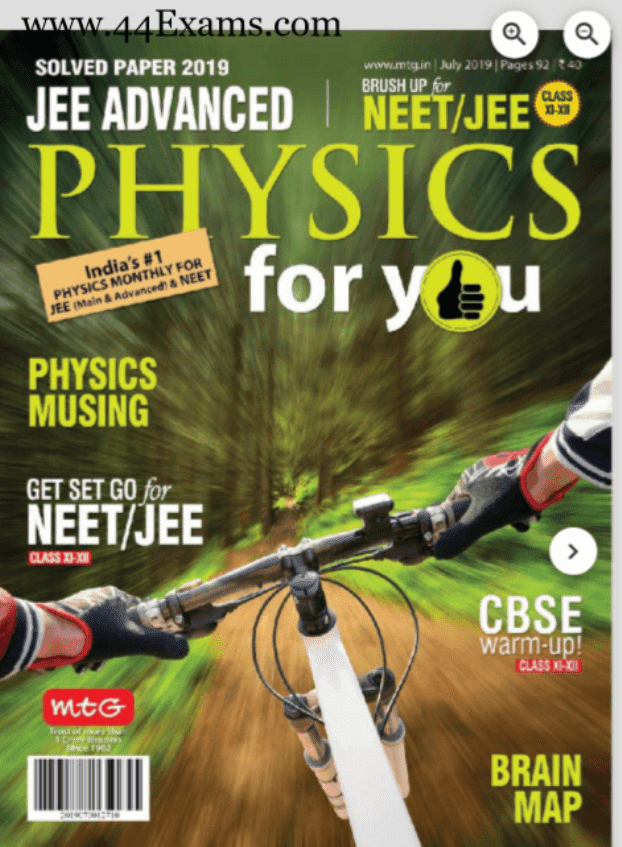 Physics-Magazine-July-2019-For-IIT/JEE-Exam-PDF-Book