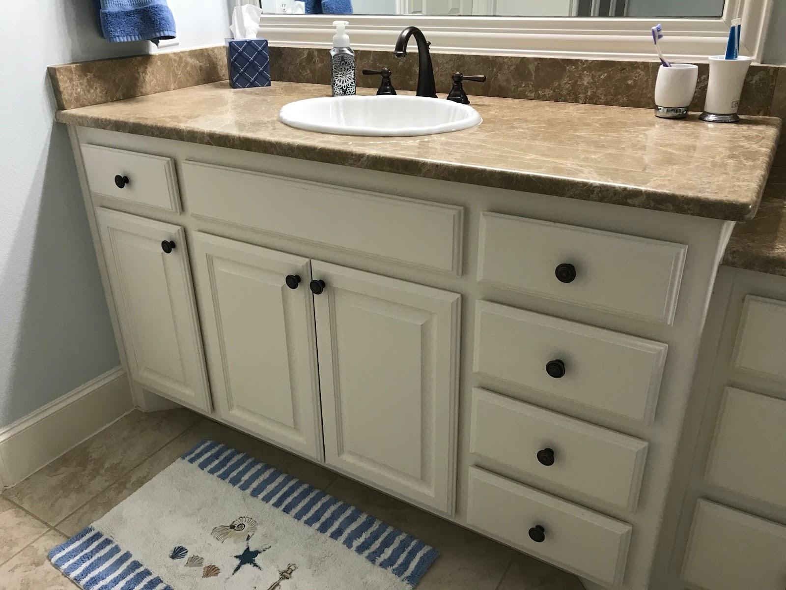 Busy Geemaw Bathroom Cabinet Knob Update