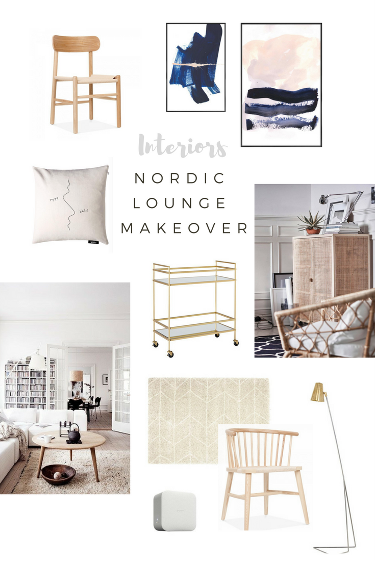 OUR NORDIC INTERIOR LOUNGE MAKEOVER | WILD & GRIZZLY