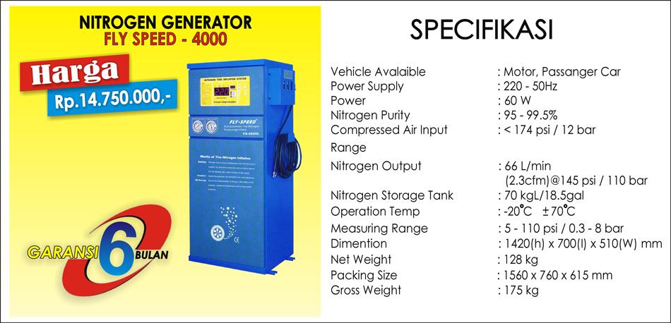 NITROGEN GENERATOR - 4000