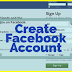 Create Account Facebook
