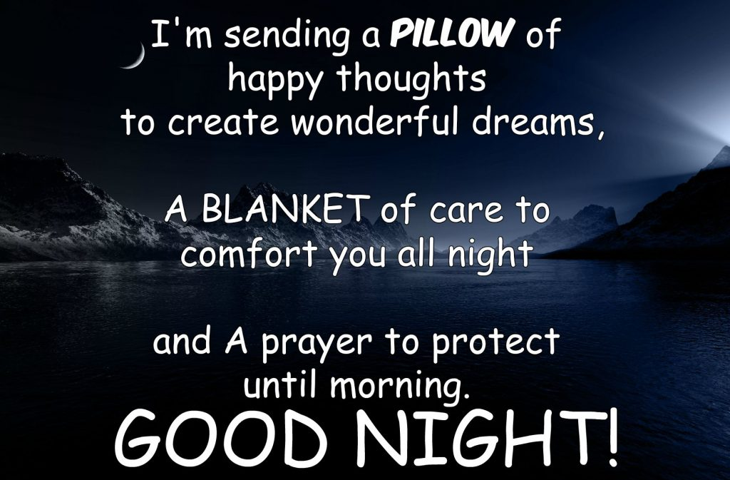Good Night Quotes For Special Friend : Good night picture quotes for her romantic