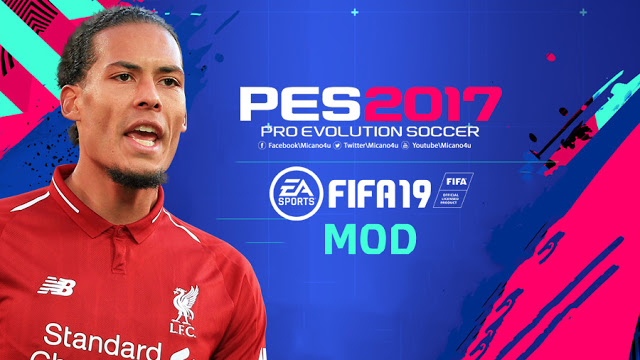 ultigamerz: FIFA 19 Full Graphic Mod Pack For PES 2017