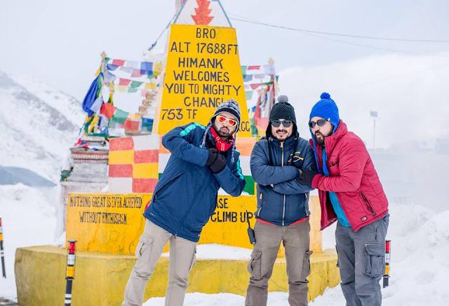 Making of Ladakh of Looms documentary.
