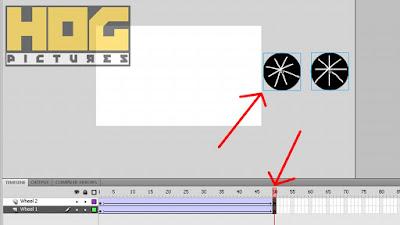 Cara Membuat Animasi Sepeda dengan Roda Berputar