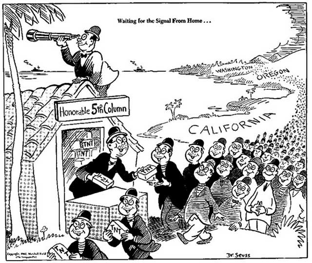 A Dr. Seuss cartoon, 13 February 1942 worldwartwo.filminspector.com